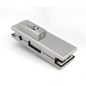 Glass Door Patch Lock With Rectangular Lock head PF-051D
