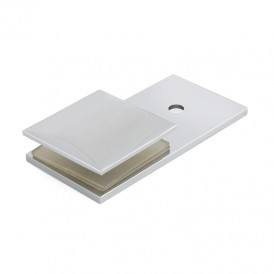 180 Degree Wall to Glass Shower Door Glass Clips